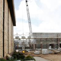 Photo - An addition to the Canadian County jail is under construction in El Reno.  Photo by Paul B. Southerland, The Oklahoman  PAUL B. SOUTHERLAND