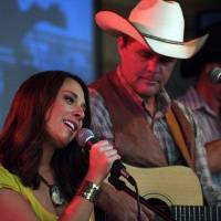 Photo - Oklahoma-born and bred singer-songwriter Amber Hayes and former Lonestar frontman Richie McDonald appear in a scene from