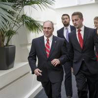 Photo - Rep. Steve Scalise, R-La., the new House GOP whip, leaves a closed-door Republican strategy session on the immigration crisis at the U.S.-Mexico border after last-minute maneuvering failed to lock down conservative support for a planned vote, at the Capitol in Washington, Thursday, July 31, 2014. The surprise developments, coming on Congress' final day of action ahead of a five-week summer recess, were an embarrassing setback for Speaker John Boehner and his leadership team as a small group of tea party lawmakers once again upset their plans. (AP Photo/J. Scott Applewhite)
