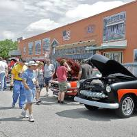 Photo -  Classic cars are on display during the 2013 Bethany 66 Festival car show. THE OKLAHOMAN ARCHIVES