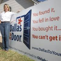 Photo - Kellye Kamp founded Dallas to your Door, a business that shops in Dallas for customers and delivers to their homes in the Oklahoma City metro area. Photo by PAUL HELLSTERN, The Oklahoman
