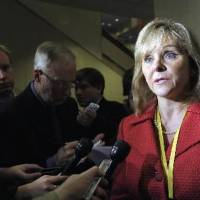 Photo - Oklahoma Gov. Mary Fallin is seen in this AP file photo.