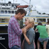 Photo - This film image released by Relativity Media shows Julianne Hough, right, and Josh Duhamel in a scene from