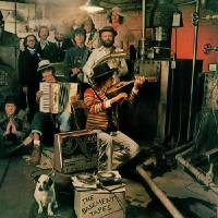 "Photo -  The iconic cover art for ""The Basement Tapes."" Not bad, but Hopper would've done better."