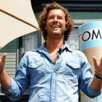Photo -  Blake Mycoskie, founder of TOMS shoes