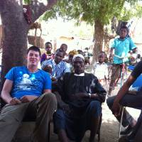 Photo - David Cornwell visits Mali. PHOTO PROVIDED