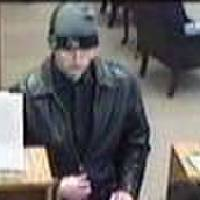 Photo -  Surveillance photo of a suspect who attempted to rob a bank Thursday morning in Midwest City.    -  Photo provided by the FBI