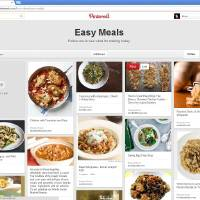 Photo - This undated image provided by Pinterest shows the popular link- and photo-sharing website's new updated site. The update now offers people a simpler navigation and new ways to arrange their boards to fit their needs. Although the haphazard spirit of Pinterest remains, the site is much less overwhelming.  (AP Photo/Pinterest)