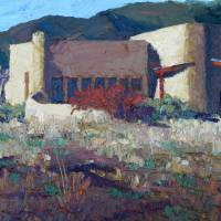 Photo - An untitled oil by Jim Cobb   Photo provided  Photo provided