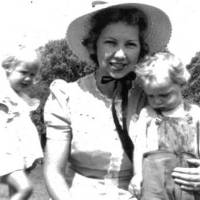 Photo - Joyce Marie (Walker) Ruggles with her children. Photo provided.
