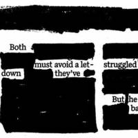 Photo - GRAPHIC: Newspaper Blackout Poetry contest: Adult winner: Angela Lister