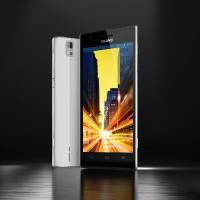 Photo - This undated product image provided by Huawei, shows the Chinese company's new flagship model that it calls