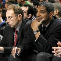 Photo -  First former assistant coach Ron Adams (left) headed to Chicago. Now Maurice Cheeks could be on the move.