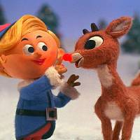 "Photo -  caption: Let the reindeer games begin!  RUDOLPH THE RED-NOSED REINDEER, the longest-running holiday special in television history, celebrates its 40th anniversary broadcast Tuesday December 4(8:00-9:00 PM, ET/PT) on the CBS Television Network. Since 1964, millions of families have tuned in to watch Rudolph and his friends, Hermey the Elf, Yukon Cornelius, and the Misfit Toys, save Christmas.  This classic ""Animagic"" special features a world-renowned musical score from Johnny Marks and the voice talent of legendary performer Burl Ives (Sam the Snowman). Photo: © Classic Media copyright:"