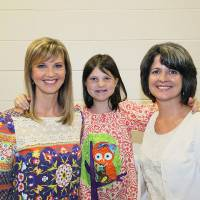 Photo - __ __Missy Robertson, Mia Robertson, Darla deSteiguer. PHOTO PROVIDED