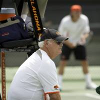 Photo - Oklahoma State University (OSU) college tennis coach James Wadley has been in Stillwater since 1972.ORG XMIT: 0909251820150212