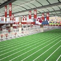 Photo -  An artist's rendering of the propsed new weight room at OU. Photo courtesy of SoonerSports.com