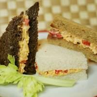 Photo - Pimento cheese sandwiches for food cover. BY JACONNA AGUIRRE/THE OKLAHOMAN ORG XMIT: KOD