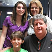 Photo -  Gary and Rebecca Dees with their children Brooke and Braden, who both have Type 1 diabetes.  PHOTOS PROVIDED    Provided  -  Provided