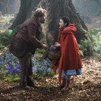 Photo -       James Corden and Lilla Crawford in Into the Woods (2014)