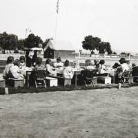 Photo - Photo of the camp that  Beatrice Warren worked in when she was a nurse at a migrant camp in California during the dust bowl era. Photo Provided  David McDaniel - The Oklahoman