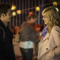 "Photo -  This image released by Columbia Pictures shows Andrew Garfield, left, and Emma Stone star in a scene from ""The Amazing Spider-Man 2."" AP Photo/Sony, Columbia Pictures, Niko Tavernise   Niko Tavernise -  AP"