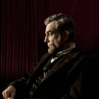 Photo - FILE - This publicity film image released by DreamWorks and Twentieth Century Fox shows Daniel Day-Lewis portraying Abraham Lincoln in the film