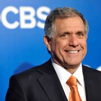Photo - FILE - In this May 16, 2012 file photo, President and Chief Executive Officer of CBS Corporation Leslie Moonves attends the CBS network upfront presentation at The Tent at Lincoln Center in New York. Moonves' total compensation rose 9 percent to $65.6 million in 2013, making him the second-highest paid CEO, according to an AP/Equilar analysis. (AP Photo/Evan Agostini, File)