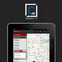 Photo - A screen shot of the Conquest RT iPad application shows some of the data that truckers will see when filling out electronic invoices when making oil purchases. PHOTO PROVIDED.