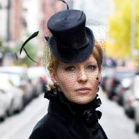 Photo - Marla Cook, a milliner seen here, and milliner Lydia Sullivan-Benham will present a hat trimming workshop from 1 to 4 p.m. Feb. 23 at JRB Art at the Elms, 2810 N Walker. Photo provided.