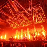 Photo - Holiday favorite Trans-Siberian Orchestra performs a 2011 show. Photo by Bob Carey.