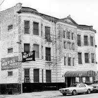Photo - The Hotel Marion, a survivor of Urban Renewal clearance efforts when the photo was taken in 1979. But the property continued to decline, with the Marion closing soon afterward. - BY PAUL SOUTHERLAND THE OKLAHOMAN ARCHIVE