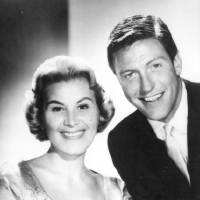 "Photo - Rose Marie and Dick Van Dyke in a 1961 photo from ""The Dick Van Dyke Show."" Photo provided"