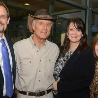 Photo - Dwight Scott, Jack Hanna, Dana McCrory, Carol Kaspereit. Photo by David Faytinger, for The Oklahoman