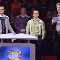 Photo - Jesse, Joshua and Daniel Wagner appear on the Game Show Network's