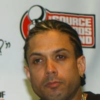 "Photo - File - This Oct. 10, 2004 file photo shows  and Ray Benzino at the Source Hip-Hop Music Awards  in Miami. Authorities say the reality TV star and rapper was shot and injured by his nephew while in a funeral procession for a family member in Massachusetts. Benzino, whose real name is Raymond Scott, is a cast member of the VH1 reality show ""Love & Hip Hop: Atlanta"" and former co-owner of The Source magazine. (AP Photo/Alan Diaz, File)"