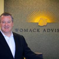 Photo - Greg Womack is president of Womack Investment Advisers.  photo by Adam Wilmoth