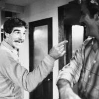 Photo - CORRECTS DATE OF DEATH TO MARCH 19 - FILE - In this Nov. 11, 1979 file photo, Harry Reems rehearses for his legitimate theater debut in an Off-Broadway comedy-drama,