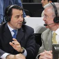 Photo - COLLEGE BASKETBALL ANALYST: Fran Fraschilla, left, and Ron Franklin will call the All-College Classic on Monday night on ESPN2.  PHOTO PROVIDED      ORG XMIT: 0912172120240912