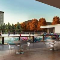 Photo -  Proposed Myriad Gardens ice rink
