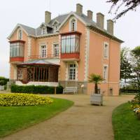 Photo - The Villa Les Rhumbs where fashion designer Christian Dior grew up on the coast of Normandy in France is now a museum of his creations. Photo courtesy of Patricia Woeber.
