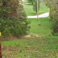 Photo - The disc golf course at Natural Falls State Park near West Siloam Springs offers two sets of nine holes that feature diverse play areas. PHOTO PROVIDED