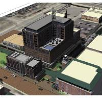 Photo - ARTIST'S RENDERING / GRAPHIC: An artist's drawing of the development planned for Bricktown in downtown Oklahoma City.