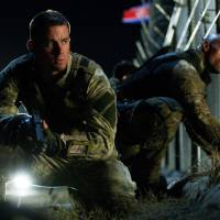 "Photo - Channing Tatum, left, as Duke and Dwayne Johnson as Roadblock in a scene from ""G.I. Joe: Retaliation."" PARAMOUNT PICTURES PHOTO"