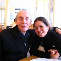 Photo -       Edward Willmoth and Amy Choate in London, England, in 2006. (Amy Choate-Nielsen)