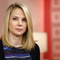 Photo - This image released by NBC shows Yahoo CEO Marissa Mayer appearing on NBC News'