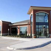 Photo - An exterior view of a new BancFirst branch at 701 SW 19th in Moore, Okla., Monday, Oct. 31, 2011. Photo by Nate Billings, The Oklahoman ORG XMIT: KOD