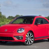 Photo - This undated photo provided by Volkswagen shows the 2014 VW Beetle R-Line car. (AP Photo/Volkswagen)