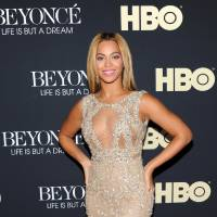Photo - FILE - In this Feb. 12, 2013 photo, Beyonce Knowles attends the premiere of