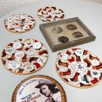 Photo - Buttons, belt buckles and a commemorative plaque will be auctioned this year to raise money for Guthrie's 89er Day parade. PHOTO BY PAUL HELLSTERN, THE OKLAHOMAN